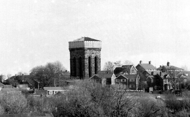 Ormskirk's other water tower