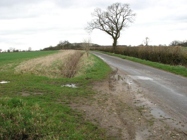 View south along Ingram's Road