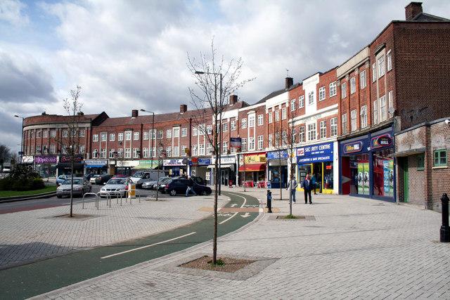Belmont:  shops