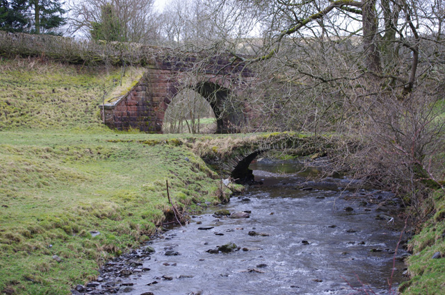 Packhorse Bridge by Lowgill Viaduct