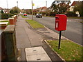 SY9995 : Broadstone: postbox № BH18 103, Upton Way by Chris Downer