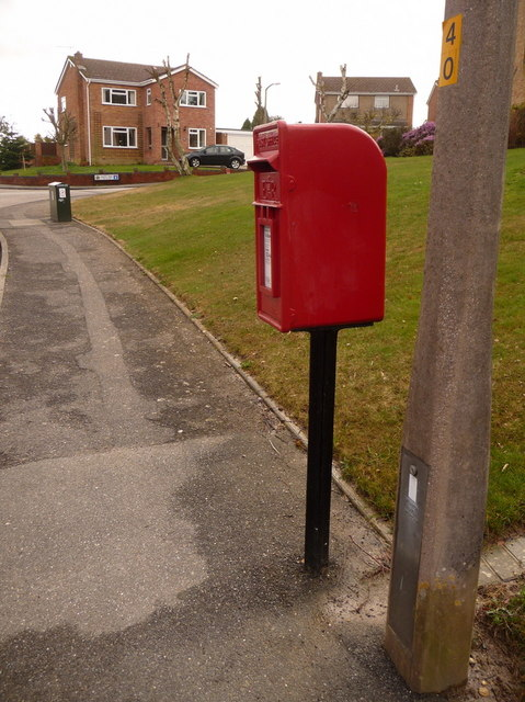 Broadstone: postbox № BH18 175, West Way