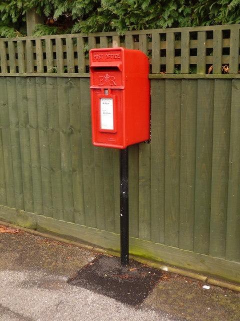 Broadstone: postbox № BH18 210, Lytchett Drive