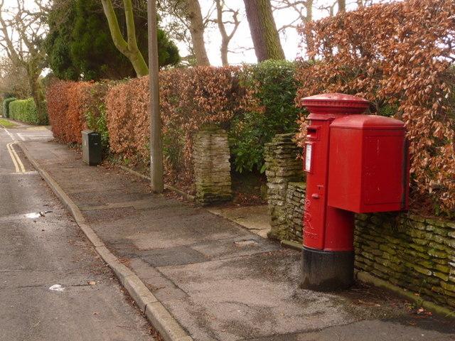 Broadstone: postbox № BH18 161, York Road
