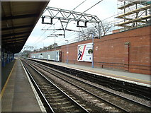 TQ4085 : Forest Gate Railway Station by Stacey Harris