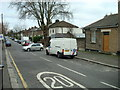 TQ4085 : Hampton Road, London E7 by Stacey Harris