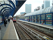 TQ3880 : All Saints DLR station by Stacey Harris