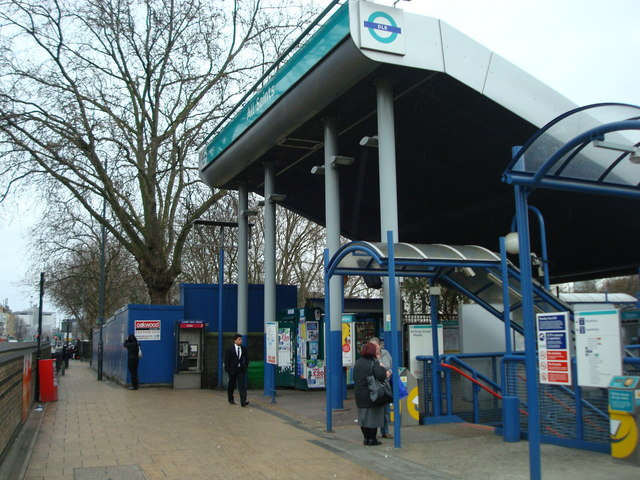 All Saints DLR station