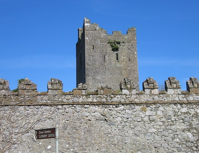 Clonony Castle, County Offaly