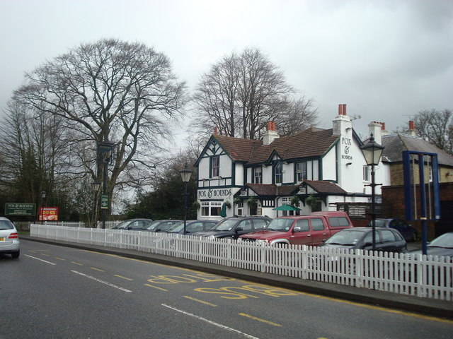 Fox and Hounds public house, Westerham Hill