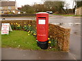 ST4505 : Mosterton: postbox № DT8 99 by Chris Downer