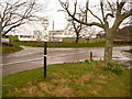 ST4400 : Stoke Abbott: Four Ashes crossroads by Chris Downer