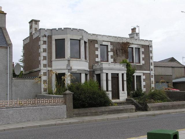 Dinapore House, Main Street, Scalloway