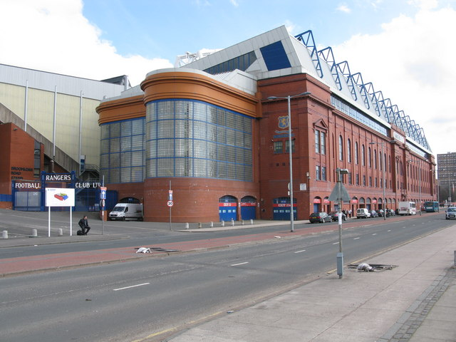 Ibrox Stadium - The Bill Struth Main Stand