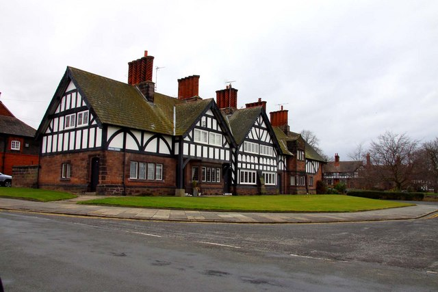 Part timbered house in Bridge Street
