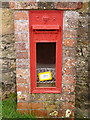 SY5895 : Wynford Eagle: postbox № DT2 26 by Chris Downer