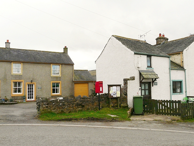 Postbox and noticeboard, Uldale