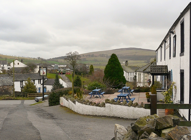 View of Uldale from the Snooty Fox