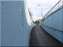 SU4212 : Subway ramp Dorset Street, Southampton by Alex McGregor