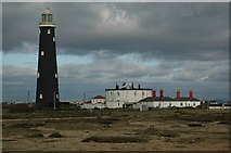 TR0916 : Dungeness, The Old Lighthouse by Mark Collins
