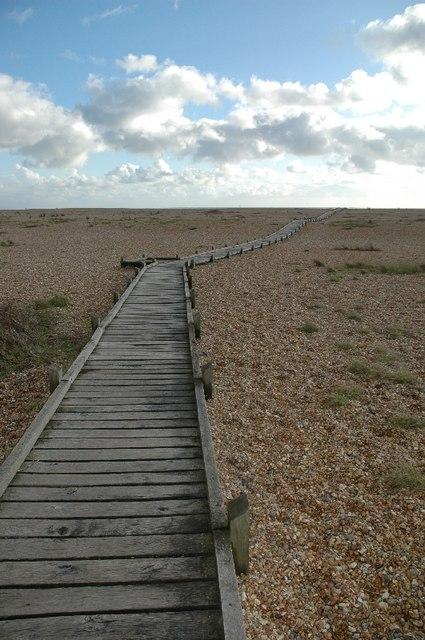 Dungeness, The Beach