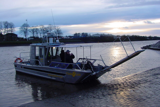 Silvers Marine - The new Renfrew Ferry as of April 2010.
