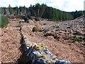 NR7265 : Wall and the Allt Gortain Ruaidh by Patrick Mackie