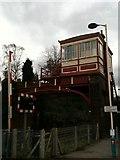 NZ1164 : Signal box, Wylam station by hayley green