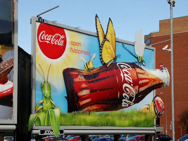 Coca-Cola advertisement, Belfast