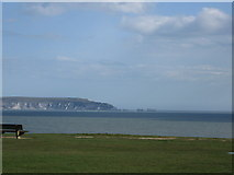 SZ2492 : View from Barton on Sea by Alex McGregor