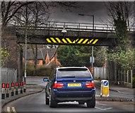 SP1297 : Railway Bridge by John Carver