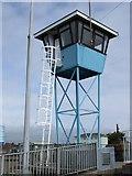 TQ0202 : Lookout tower - Littlehampton Marina by Paul Gillett