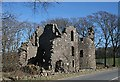 NJ9329 : Esslemont Castle by Anne Burgess