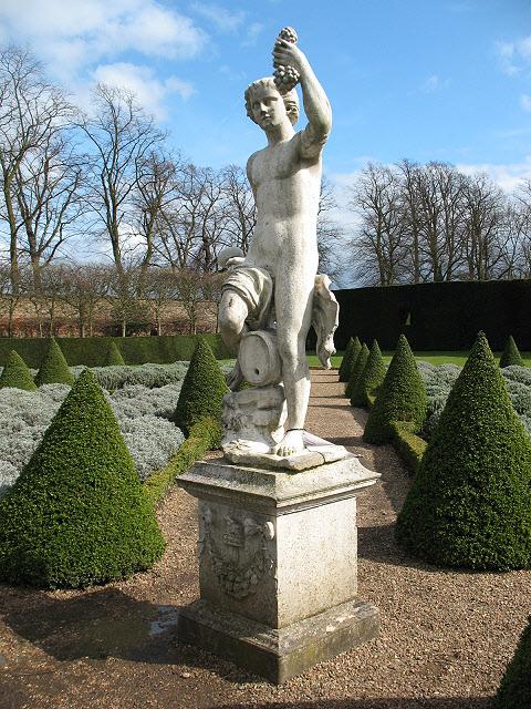 Ham House: statue of Bacchus