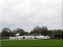 TQ1773 : Polo club at Ham by Stephen Craven