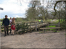 TQ1773 : Footbridge to Ham House by Stephen Craven