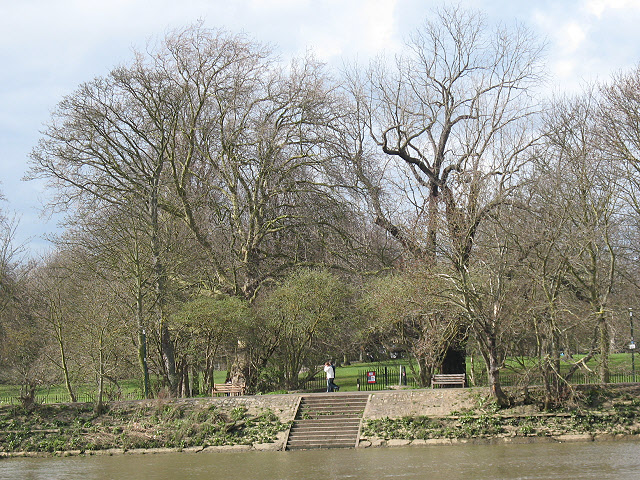 Riverside steps at Twickenham