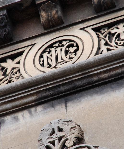 Elmwood Hall initials, Belfast (2)