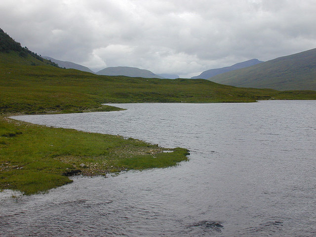 The south shore of Loch a' Bhraoin