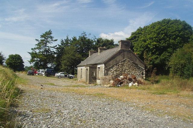 Abandoned farmhouse, County Roscommon