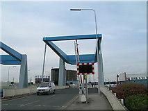 TA1031 : Clough Road Lift Bridges over the River Hull by JThomas