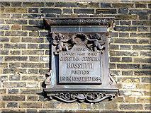 TQ3081 : Plaque, No. 30 Torrington Square, London WC1 by Christine Matthews