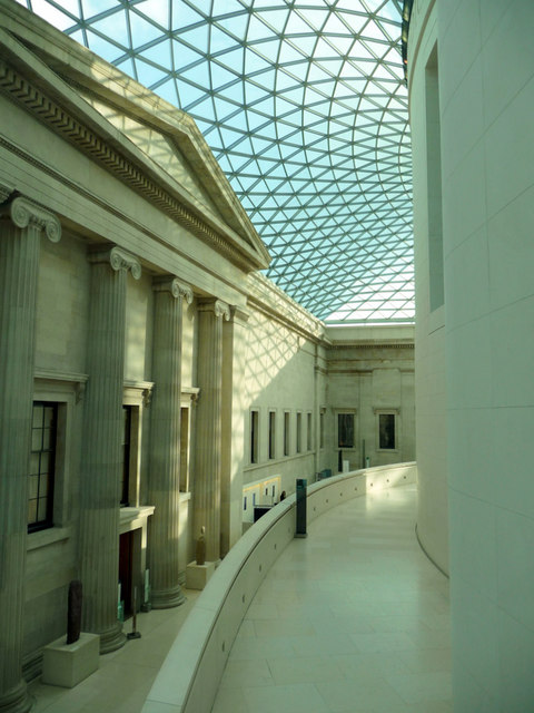 Great Court, British Museum, London WC1