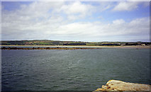 SW5130 : Great Hogus rock, Marazion, and Longrock by John Rostron