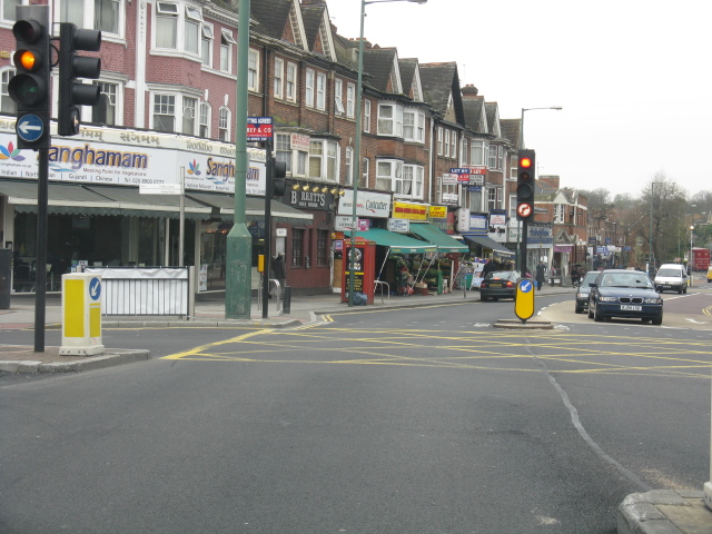 Wembley - Ealing Road Traffic Lights