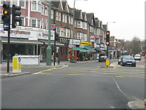 TQ1885 : Wembley - Ealing Road Traffic Lights by Peter Whatley