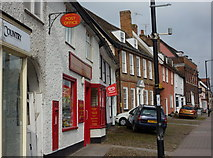 TM0855 : Needham Market post office by Andrew Hill