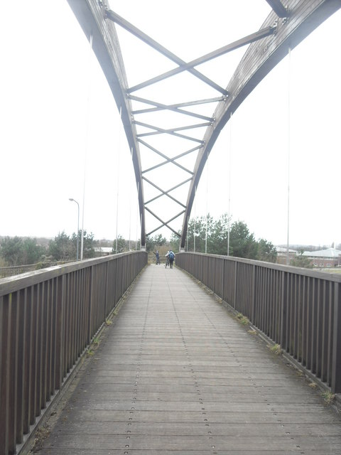 Footbridge over A523, Macclesfield