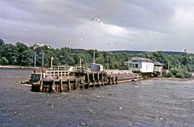 Balloch Pier station from Loch Lomond