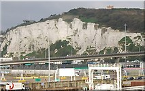 TR3341 : Jubilee Way and White Cliffs by N Chadwick